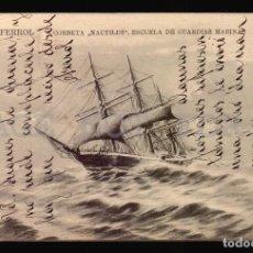Postales: MARINA ESPAÑOLA NAUTILUS ANTIGUA POSTAL ORIGINAL ED. EL CORREO GALLEGO . Lote 108415975