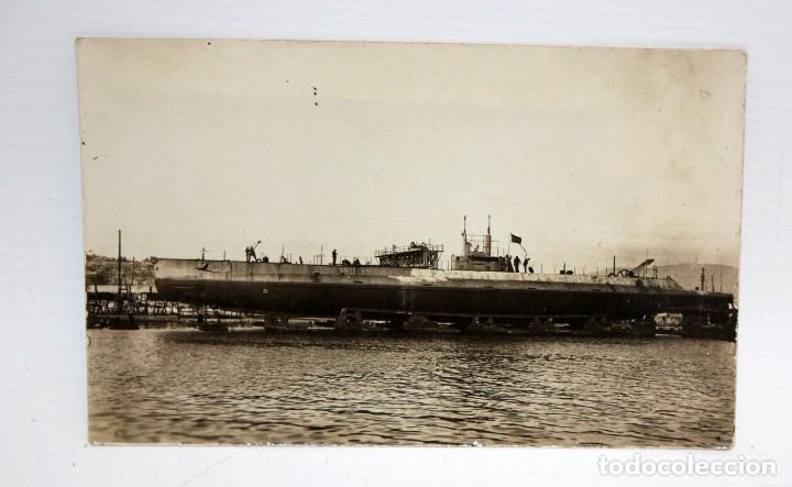 ANTIGUA FOTO POSTAL DE LOS AÑOS 20-30. BARCO. SIN CIRCULAR (Postales - Postales Temáticas - Barcos)