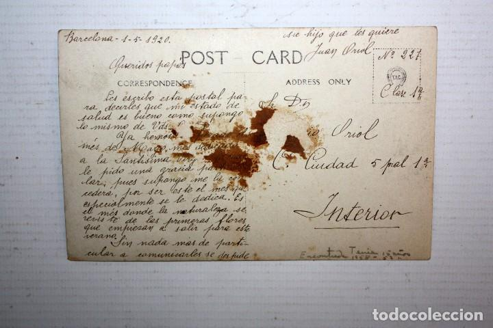 Postales: ANTIGUA FOTO POSTAL DE LOS AÑOS 20-30. BARCO. SIN CIRCULAR - Foto 2 - 108439147