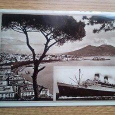 Postales: EL CONTE DI SAVOIA. NAPOLI, ITALIA. Lote 109066739