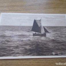 Postales: DEPART VERS L´INFINI VAREN SCHIPPERTJE VAREN.. CIRCULADA 1936. Lote 109145991