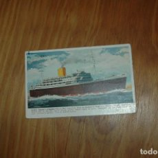 Postales: POSTAL DEL BARCO ANDES ....ROYAL MAIL LINES CRUISING SHIP ANDES. Lote 109183599