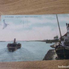 Postales: RUPELMONDE. DE WILFORDBOOT BATEAU A VAPEUR WILFORD.. CIRCULADA 1925. Lote 109192283