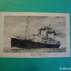 Postales: BUQUE CONTE VERDE LLOYD SABAUDO GIUGNO 1925. Lote 109587643