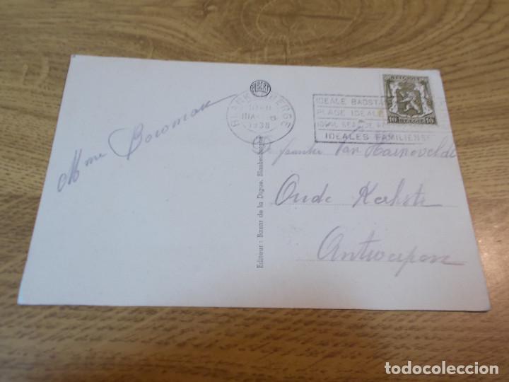 Postales: BLANKENBERGHE. RETOUR DE PECHE TERUGKEER VAN T´VISCHANGST. CIRCULADA 1938 - Foto 2 - 110049387