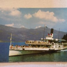 Postales: BARCO. ORIGEN SUIZA. SIN USAR. Lote 110306347