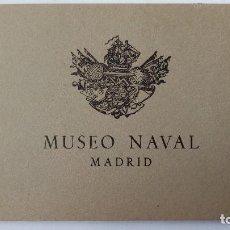 Postales: BLOQUE 12 POSTALES, MUSEO NAVAL - MADRID. Lote 113739751