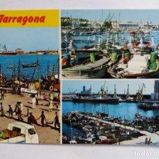 Postales: TARJETA POSTALES - 1979 ESPAÑA - COSTA DORADA TARRAGONA - EL PUERTO - BARCOS. Lote 118359995