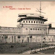 Postales: POSTAL BILBAO CASA DEL BARCO. Lote 119056972
