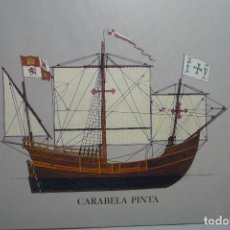 Postales: POSTAL CARABELA PINTA - 5º CENTENARIO. Lote 120726595