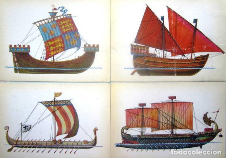 Postales: Juego de 32 postales sovieticas.Historia de barco .p-1.URSS.Moscou 1982 a - Foto 6 - 120831383
