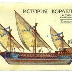 Postales: JUEGO DE 32 POSTALES SOVIETICAS.HISTORIA DE BARCO .P-2.URSS.MOSCOU 1989 A. Lote 120831751