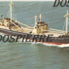 Postales: POSTAL, BUQUE, M.V. THE LADY GWENDOLEN, IRLANDA, CIRCULADA. Lote 120842531