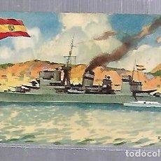 Postales: TARJETA POSTAL BARCOS - CHOCOLATE LA ESTRELLA. ESPAÑA. CRUCERO JUPITER. Lote 121697451