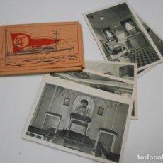 Postales: BUQUE CIUDAD DE CADIZ - CARPETA COMPLETA DE 12 POSTALES. Lote 121841899