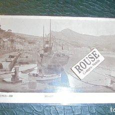 Postales: BARCOS - MARIA MERCEDES - SOLLER - MALLORCA 268 - SOLLER BARRIO PUERTO N.C.P. POSTAL CIRCULADA . Lote 124723331
