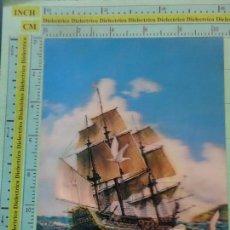 Postales: POSTAL DE BARCOS NAVIERAS. JAPÓN. ESTEREOSCÓPICA. GALEÓN. 1486. Lote 125341839