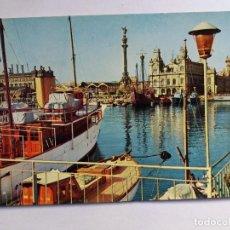 Postales: POSTAL - BARCELONA - COLON Y CARABELA SANTA MARIA. Lote 127926183