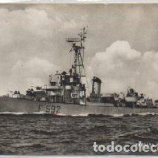 Postales: POSTAL DE BARCO: FRAGATA ANDROMEDA P-BAR-535. Lote 129415551