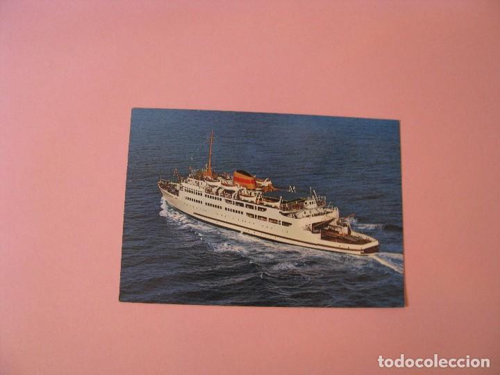 POSTAL TRANSBORDADOR VICTORIA. ALGECIRAS. ED. GARCIA GARRABELLA. (Postales - Postales Temáticas - Barcos)