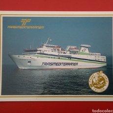 Postales: POSTAL TRANSMEDITERRANEA FERRY SERIE TRITÓN LAS PALMAS GRAN CANARIA. Lote 130868819