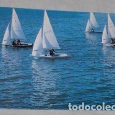 Postales: POSTAL BARCOS DE VELA, MUNDO VELA 92, FOTO DE GUILLÉN FRANCO. Lote 131091628