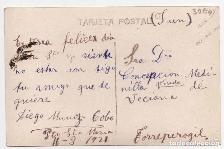 Postales: POSTAL FOTOGRÁFICA DE MARINA DE GUERRA ESPAÑOLA - ACORAZADO ESPAÑA - Foto 2 - 132458206