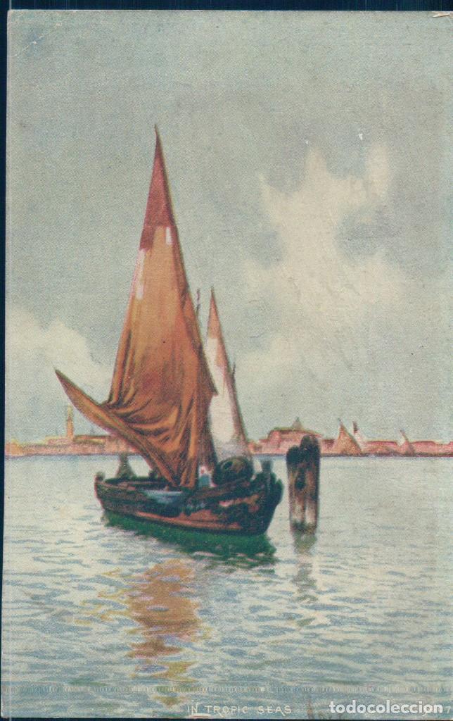 POSTAL BARCO VELERO - IN TROPIC SEAS (Postales - Postales Temáticas - Barcos)
