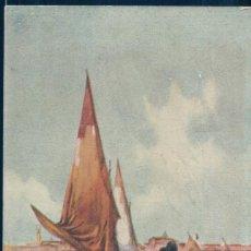 Postales: POSTAL BARCO VELERO - IN TROPIC SEAS. Lote 136437122