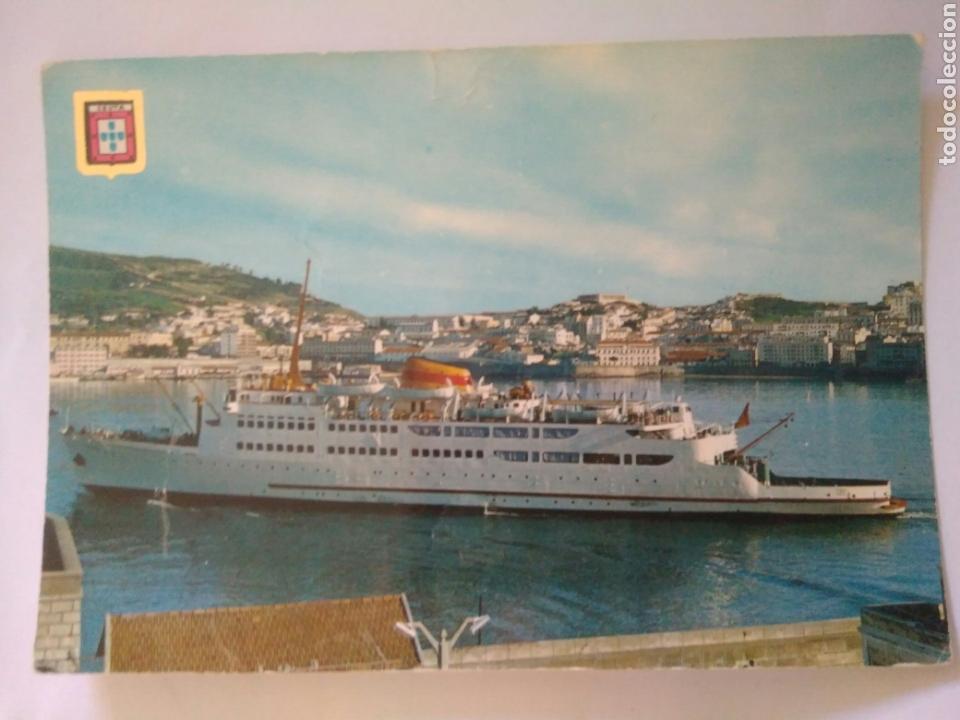 ANTIGUA FOTO POSTAL BARCO CEUTA ORO 21.C.A.1 (Postales - Postales Temáticas - Barcos)