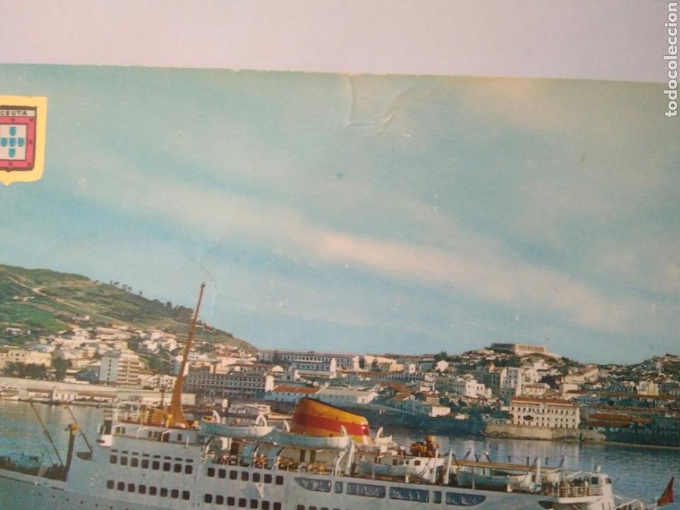Postales: ANTIGUA FOTO POSTAL BARCO CEUTA ORO 21.C.A.1 - Foto 2 - 198684077