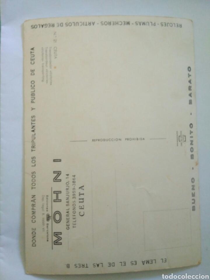 Postales: ANTIGUA FOTO POSTAL BARCO CEUTA ORO 21.C.A.1 - Foto 3 - 198684077
