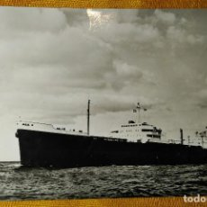 Postales: POSTAL BARCO - BUQUE PETROLERO VIVIPARA. SHELL TANKERS N.V - . Lote 142044742