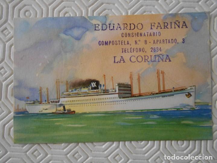 YBARRA Y CIA. S.A. LINEA MEDITERRANEO - BRASIL - PLATA. CABO DE BUENA ESPERANZA - CABO DE HORNOS. DE (Postales - Postales Temáticas - Barcos)