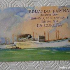Postales: YBARRA Y CIA. S.A. LINEA MEDITERRANEO - BRASIL - PLATA. CABO DE BUENA ESPERANZA - CABO DE HORNOS. DE. Lote 142063226