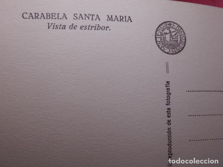 Postales: Tarjetas - Album de 12 postales con fotos oficiales de la Carabela Santa María - Kallmeyer y Gautier - Foto 4 - 142366446