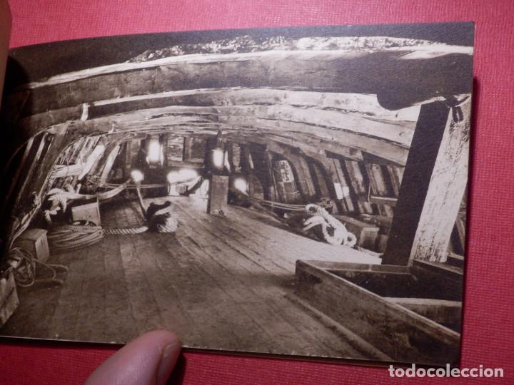 Postales: Tarjetas - Album de 12 postales con fotos oficiales de la Carabela Santa María - Kallmeyer y Gautier - Foto 6 - 142366446