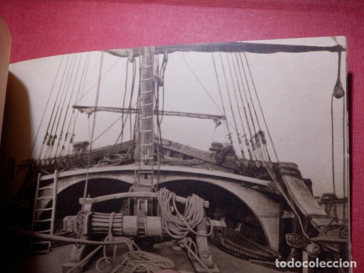 Postales: Tarjetas - Album de 12 postales con fotos oficiales de la Carabela Santa María - Kallmeyer y Gautier - Foto 7 - 142366446