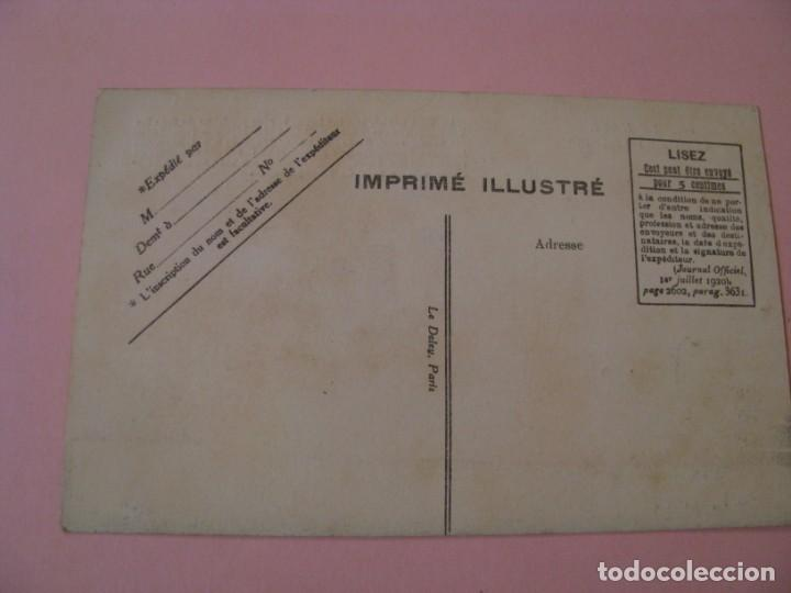 Postales: POSTAL DE LE HAVRE LE PAQUEBOT PARIS. ED. LE DELEY. PARIS. - Foto 2 - 142782574