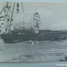 Postales: TARJETA CON VEHICULO (?) , ANK WINSEMIUS .. BARCO , GRUA, ETC . ESTA EN INGLES Y NO SE QUE ES . 1971. Lote 143522566