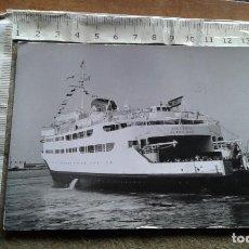 Postales: POSTAL CIRCULADA CON SELLOS DE MARRUECOS DEL TRANSBORDADOR VICTORIA - FOTO GARCIA CORTES. Lote 146354046