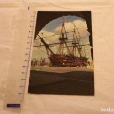 Postales: POSTAL DE BARCOS NAVIERAS. BARCO BUQUE HMS VICTORY EN PUERTO DE PORTSMOUTH PT3089. Lote 146433366