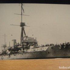 Postales: ACORAZADO INGLES HMS DREADNOUGHT - EDITA E. N. BAZAN - POSTAL SIN CIRCULAR. Lote 148817498