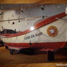 Postales: BARCO SALVA-VIDAS CEGO DO MAIO POSTAL MUSEU MUNICIPAL DE ETNOGRAFIA E HISTORIA DE POVOA DE VARZIM. Lote 148985834