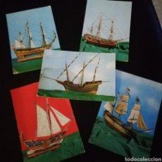 Postales: LOTE POSTALES BARCOS VELA. Lote 150493370