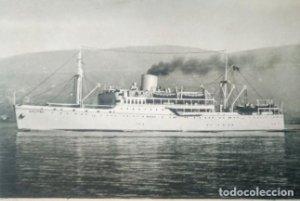 1933 Lloyd Triestino Motonave Calitea. Italia