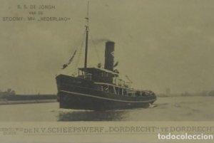 S.S. De Jongh Van De Stoomv: Mij Nederland