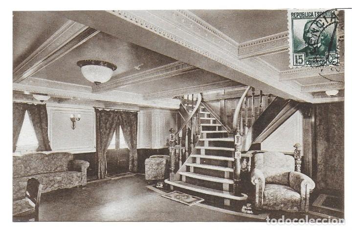 Postales: P- 9089. LOTE TRES POSTALES TRANSMEDITERRANEA, CIUDAD DE VALENCIA. AÑO 1935. - Foto 5 - 152884070