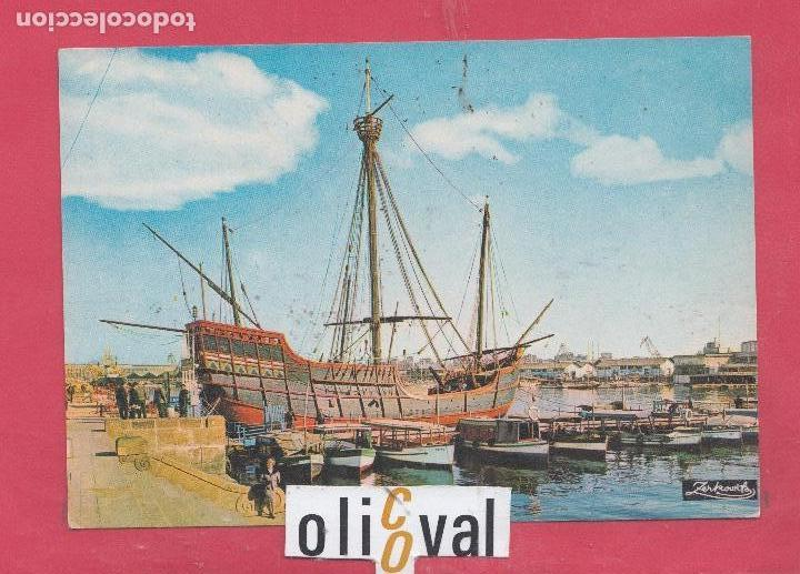 BARCO CARABELA SANTA MARIA PE02285 (Postales - Postales Temáticas - Barcos)