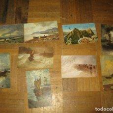 Postales: LOTE POSTALES ANTIGUAS TEMATICA MARINERA BARCOS AÑOS 1910-1920 ESCRITAS. Lote 156035122